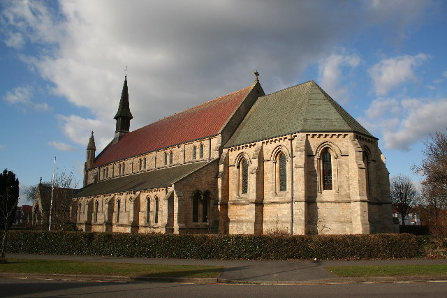 St.Matthew's church, Skegness, Lincs.