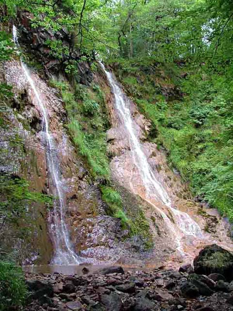 The Grey Mares Tail waterfall