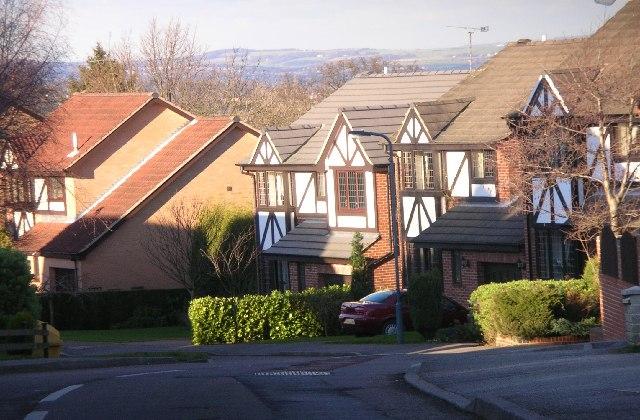 Parkgate Drive, off Quarry Hill, near Ridgeway.