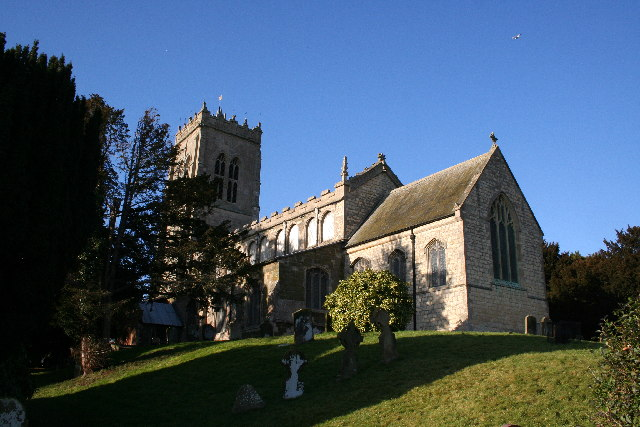 St.Peter & St.Paul's church, Burgh-le-Marsh, Lincs.