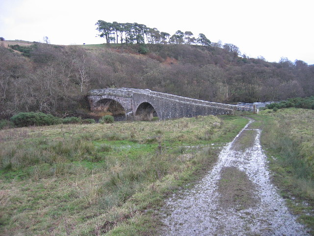 East Woodburn Bridge spanning the River Rede