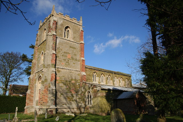 All Saints' church, Orby, Lincs.