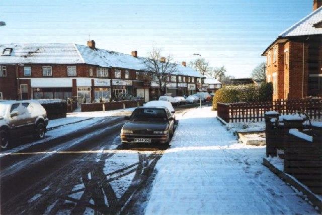 Carlyon Rd, Alperton, Under Snow Dec. 27, 2000.