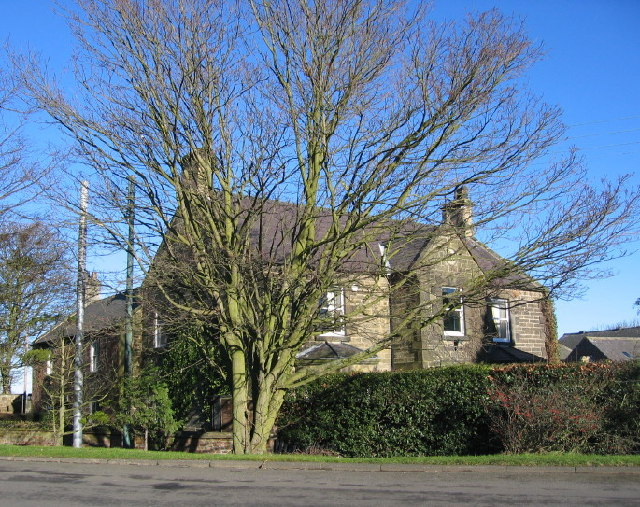 House and tree, Eland Green
