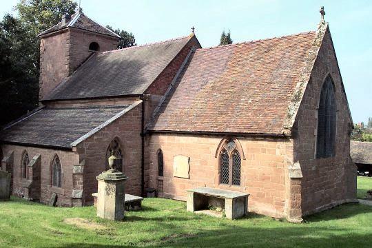 St. Milburga's Church, Beckbury