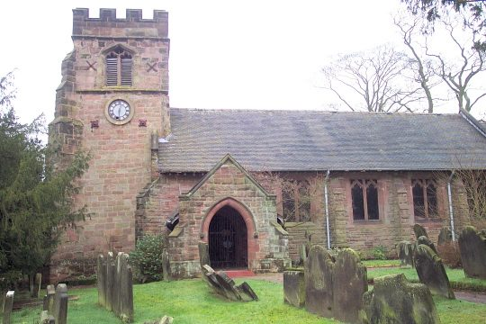 Barlaston Old Church, St. John the Baptist