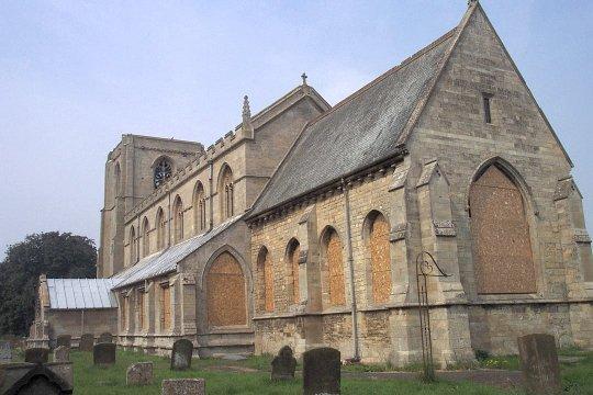 All Saints, Benington