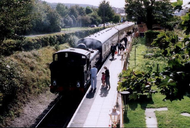 Pannier Tank at Chinnor Station