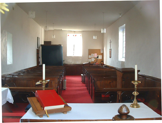Barlow Church Interior