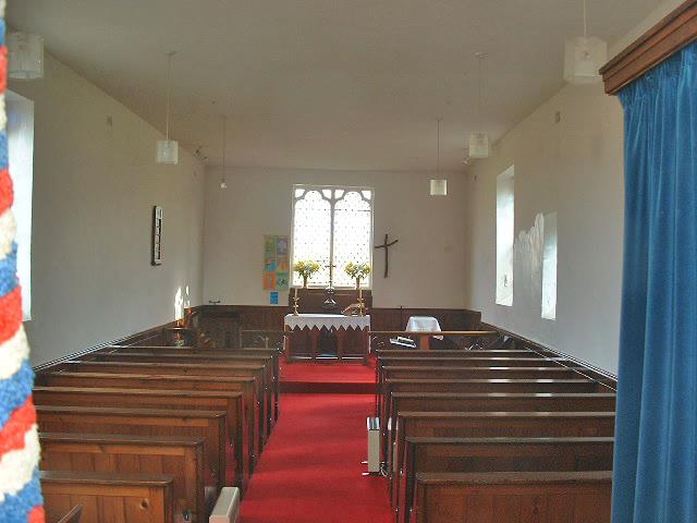 Barlow Church Interior
