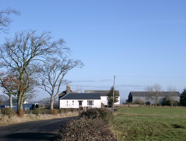 Burn farm, undergoing renovations.