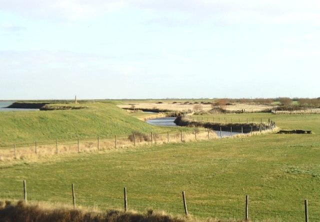 River bank near Barling