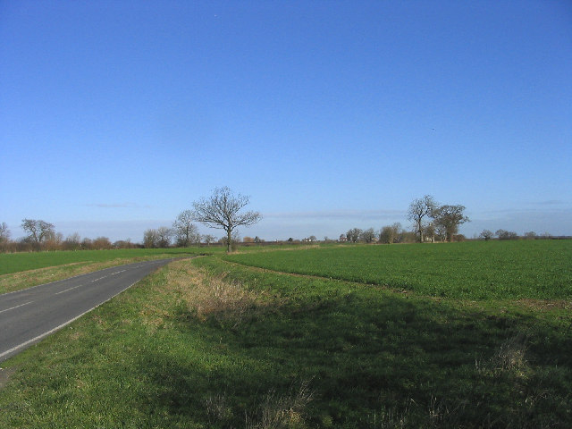 Unfenced Road near Chignall Smealy