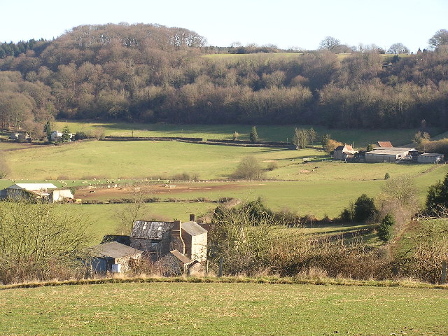 View over Twizling Farm