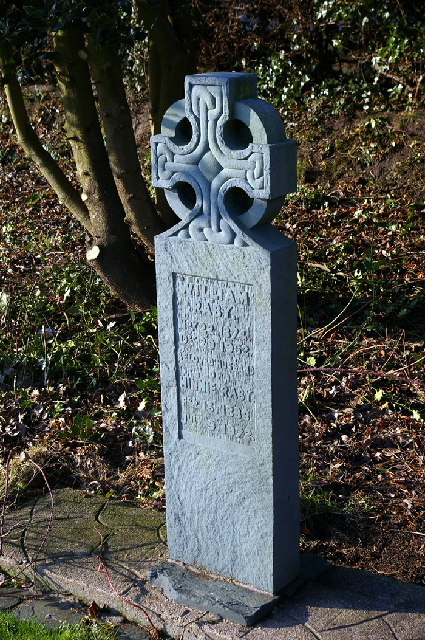 Goxhill Cemetery - Monument to William & Minnie Raby