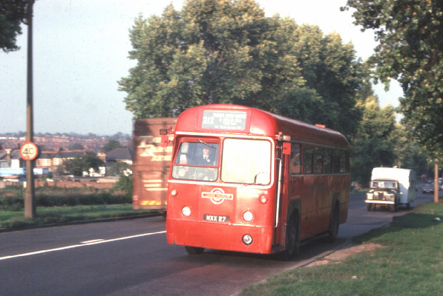 212 Bus on North Circular Road