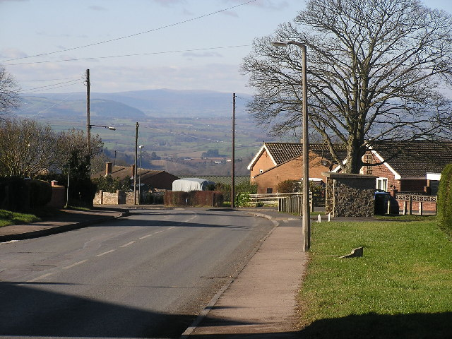 The Black Mountains from Ruardean