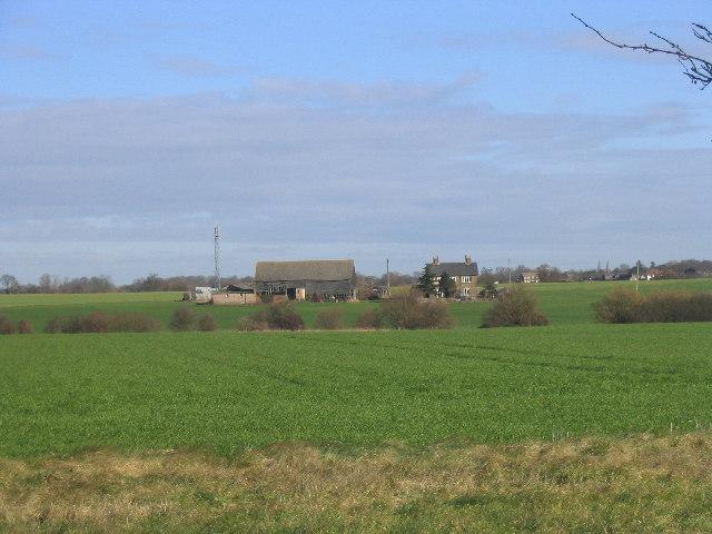 New Barns Farm near Writtle