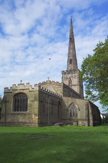 St. Edward, Castle Donington