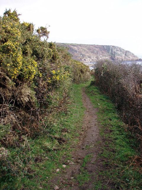 Coast path near St Loy