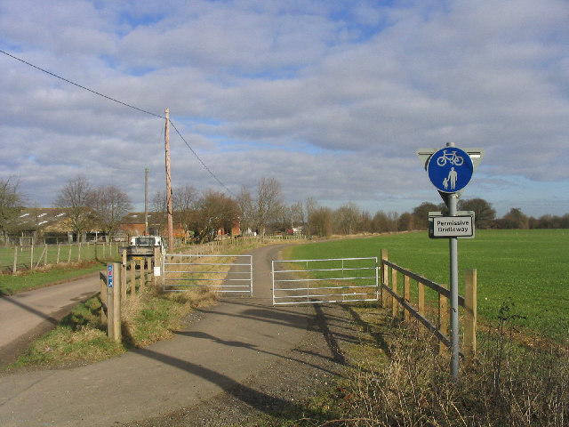 Permissive Bridleway near Writtle