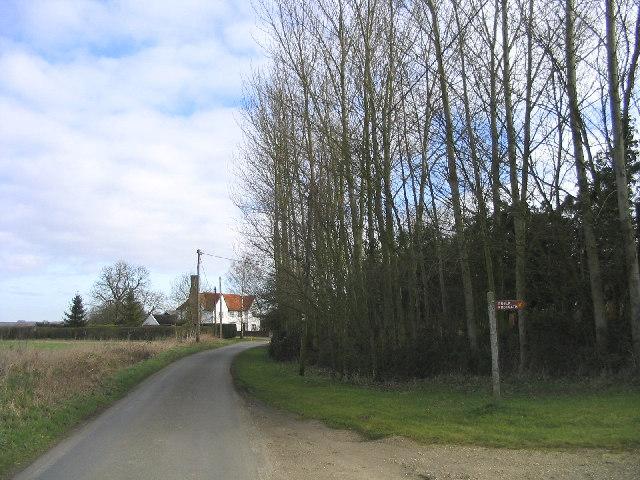 Board's Farm near Newney Green