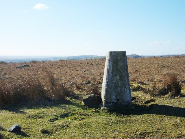 Triangulation Pillar on Rushy Hill, 315m