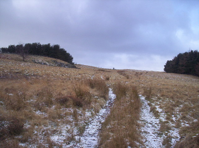 Track to Hunthill Lodge
