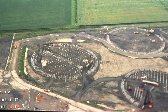 Drax Power Station, Cooling Tower Foundation Piles