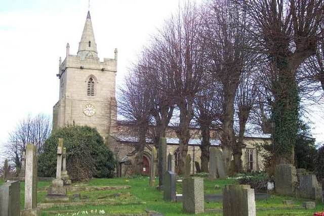 St. Michael & All Angels, Church Broughton