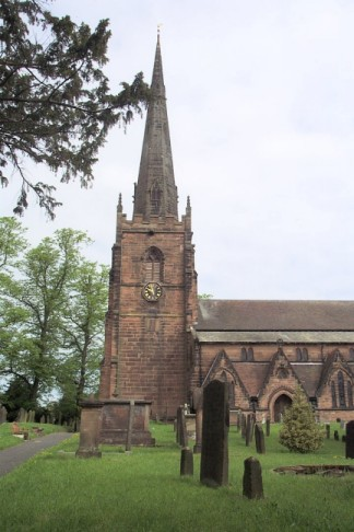 Church of St. Mary the Virgin and St. Chad, Brewood