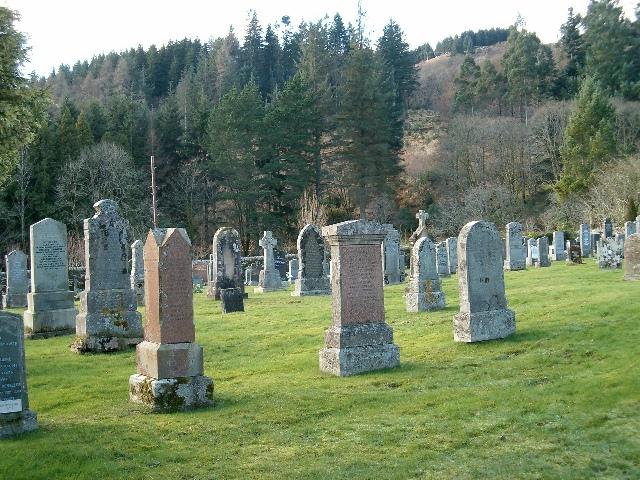 Crarae Cemetery