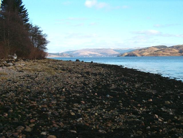 Foreshore of Loch Fyne at Minard