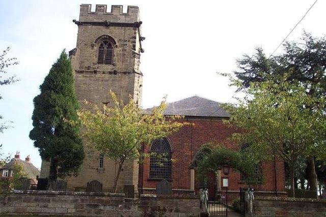St. Nicholas, Mavesyn Ridware