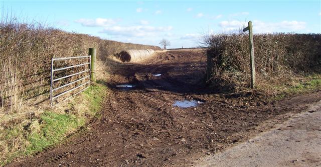 Muddy Footpath.