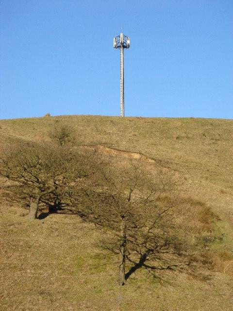 Mast near Hawkshaw