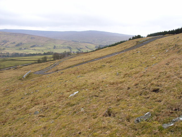 The access road to the transmitter at Mounthooly