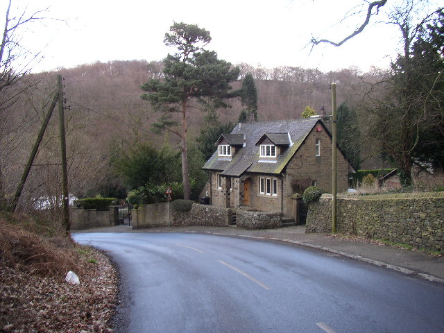 House on the bend, Birks Lane, Thunderbridge, Thurstonland, Yorkshire