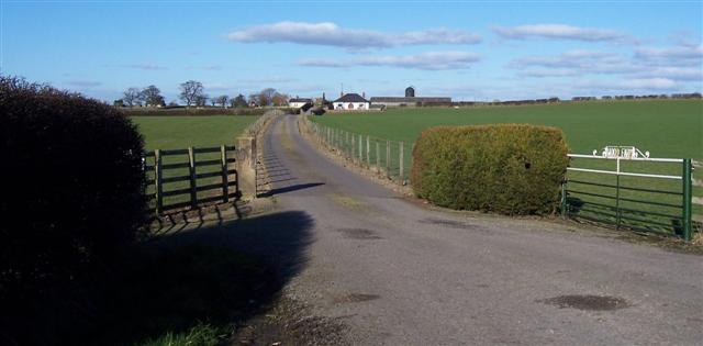 Wood Farm Entrance.