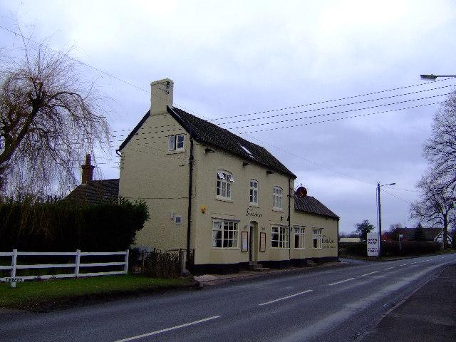The Shropshire - pub on main A518 Haughton
