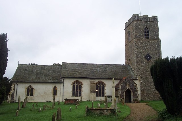 All Saints, Great Glemham