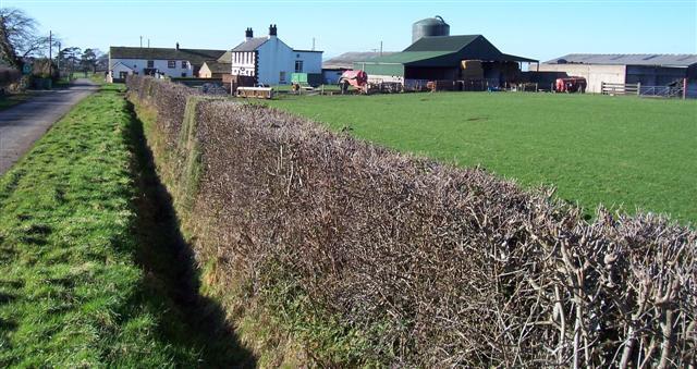 Kirkland Hall Farm.