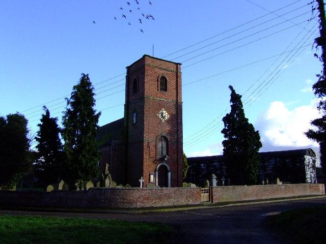 Church - Preston upon the Weald Moors