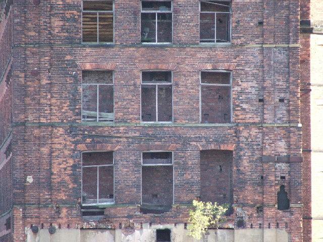 Close up of Hunslet mills.