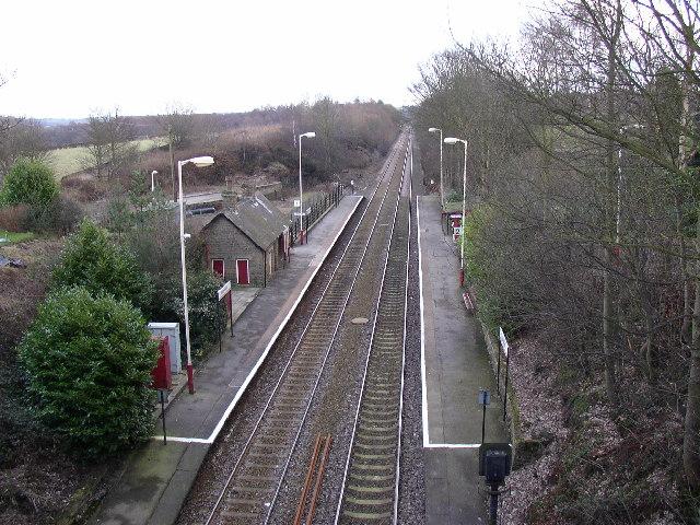 Stocksmoor Station, Thurstonland, Yorkshire