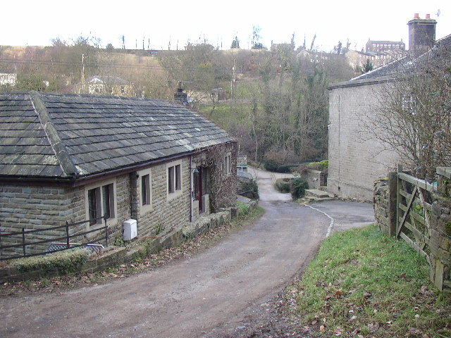 House on site of old mill, Long Lane, Shepley, Yorkshire