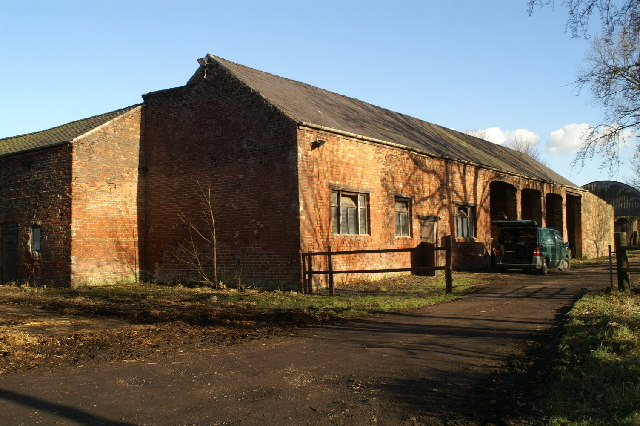 Rear of stables, Spring Farm