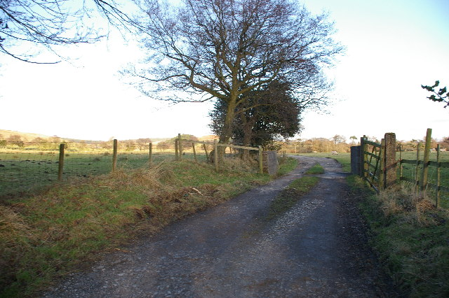 Entrance to Hansons Farm