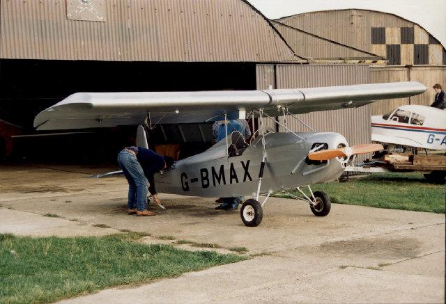 Preparing for flight - Andrewsfield