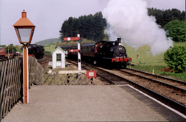 Arrival at Weybourne